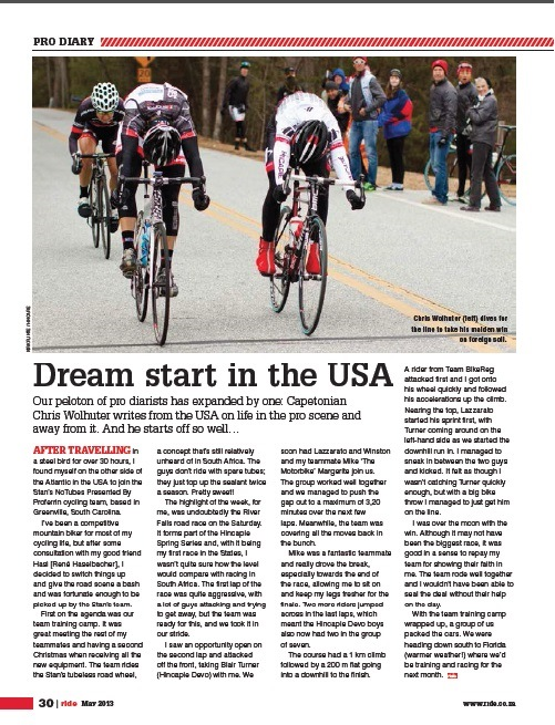 ride article